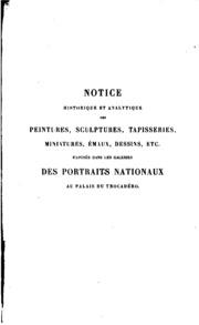 Notice historique et analytique des peintures, sculptures, tapisseries ...