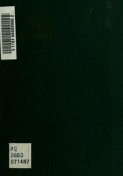 Nouveaux poèmes; les chants de la terre et de l-eau