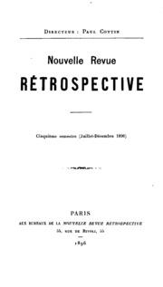 Vol 5: Nouvelle revue rétrospective