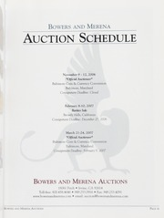The November 2006 Baltimore Auction