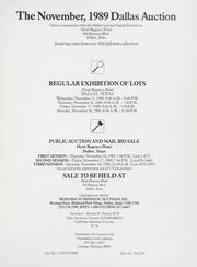 The November 1989 Dallas Auction