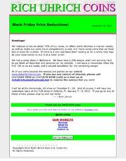 November 2011 - Black Friday Price Reductions