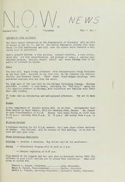 N.O.W. News, 1963, no. 1