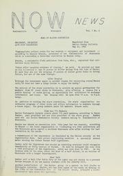 N.O. W. News, 1963, no. 2