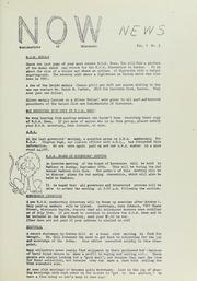 N.O. W. News, 1963, no. 3