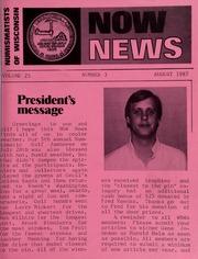 N.O.W. News, August 1987