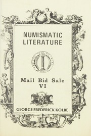Numismatic Literature: Mail Bid Sale VI
