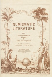 Numismatic Literature: Mail Bid Sale Three