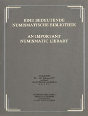 An Important Numismatic Library (German Language)