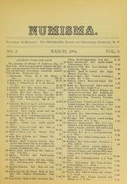 Numisma, Vol. 8, No. 2