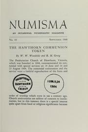 Numisma, no. 10 [1968]
