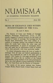 Numisma, no. 2 [1961]