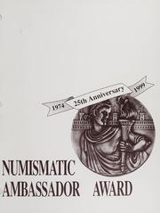 Numismatic Ambassador Award