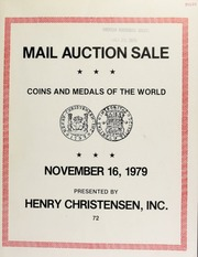 Numismatic commentary and public and mail auction sale : eight annual New York international numismatic convention ... [12/08-09/1979]