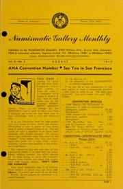 Numismatic Gallery Monthly [vol. 2, no. 8]