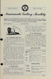 Numismatic Gallery Monthly [vol. 2, no. 10]