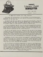 Numismatic Literary Guild Correspondence, 1971-1990 (pg. 33)