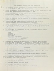 Numismatic Literary Guild 1980 Award Rules