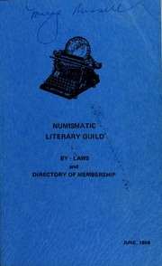 Picture of Numismatic Literary Guild