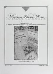 Numismatic Literature Review and Fixed Price List, vol. 1, no. 2