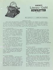 Numismatic Literary Guild Newsletter