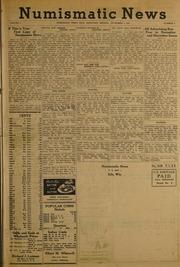Numismatic News [11/03/1952]