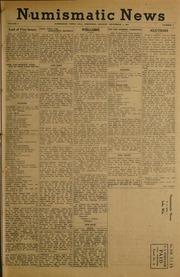 Numismatic News [12/01/1952]