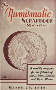 The Numismatic Scrapbook Magazine