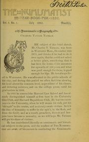 The Numismatist, Vol. 5 (1892)