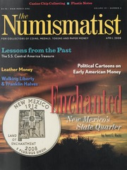 Numismatist: April 2008