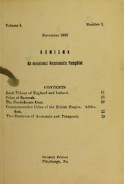 Numisma, vol. 1, no. 2 [1939]