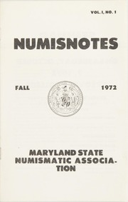 Numisnotes: Fall 1972