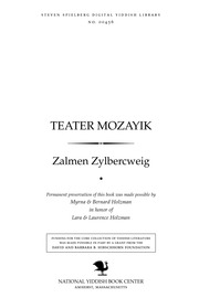 Thumbnail image for Ṭeaṭer mozayik