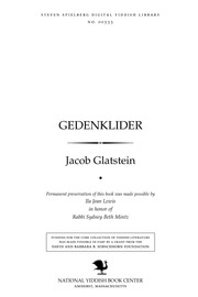 Thumbnail image for Gedenḳlider
