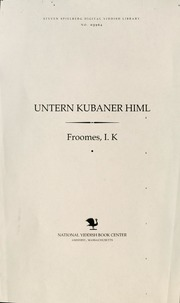 Thumbnail image for Unṭern ḳubaner himl
