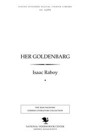 Thumbnail image for Her Goldenbarg