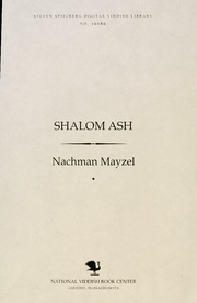 Thumbnail image for Shalom Ash