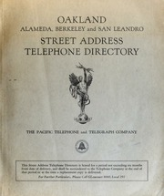 telephone directory by address