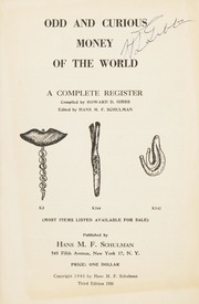Odd and Curious Money of the World: A Complete Register