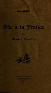 Ode à la France