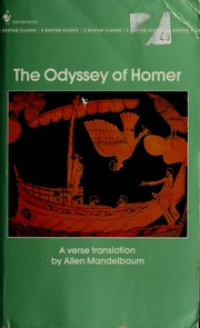 The Odyssey Of Homer A New Verse Translation Homer Free Download Borrow And Streaming Internet Archive
