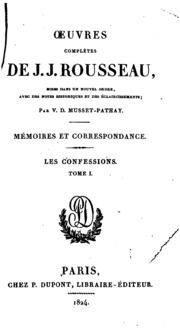 Vol 14: Oeuvres complètes de J. J. Rousseau: mises dans un nouvel ordre, avec des notes historiques et ...