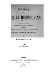Vol 2: Oeuvres de Camille Desmoulins: recueillies et publiées d-après les textes originaux, augmentées ...