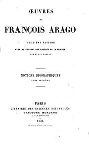 Vol 2: Oeuvres de François Arago