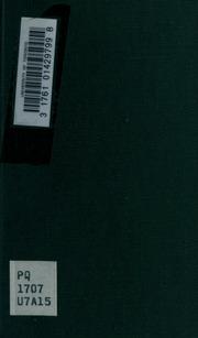 Oeuvres poétiques choisies et précédées d-une introduction par G. Michaut