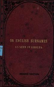 english essay etymological family historical humorous nomenclature surname
