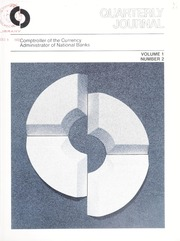 Office of the Comptroller of the Currency Quarterly Journal: Volume 1, No. 2