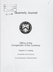 Office of the Comptroller of the Currency Quarterly Journal: Volume 15, No. 2