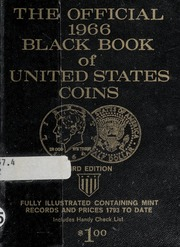 The Official 1966 Black Book of United States Coins