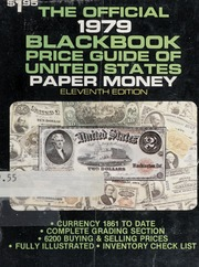 The Official 1979 Black Book Price Guide of United States Paper Money, 11th Edition